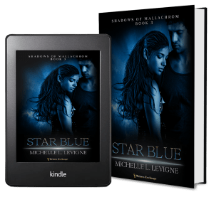 Shadows of Mallachrom, Book 3: Starblue 2 covers