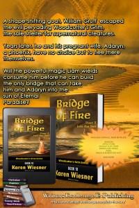Woodcutter's Grim Series, Book 10, Bridge of Fire, Part 3: Into the Sun blurb promo