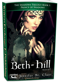 A Beth-Hill Novel: The Shadows Trilogy, Book 1: Prince of Shadows 3d cover
