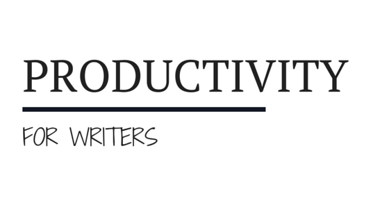 Productivity for Writers by Kristina Adams, coming soon!