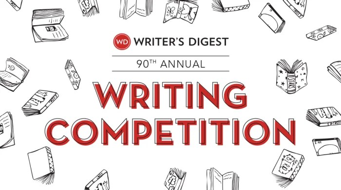 Banner for the 90th Annual Writing Competition