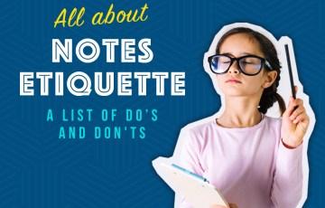 Notes Etiquette
