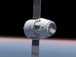 Space X to dock with ISS