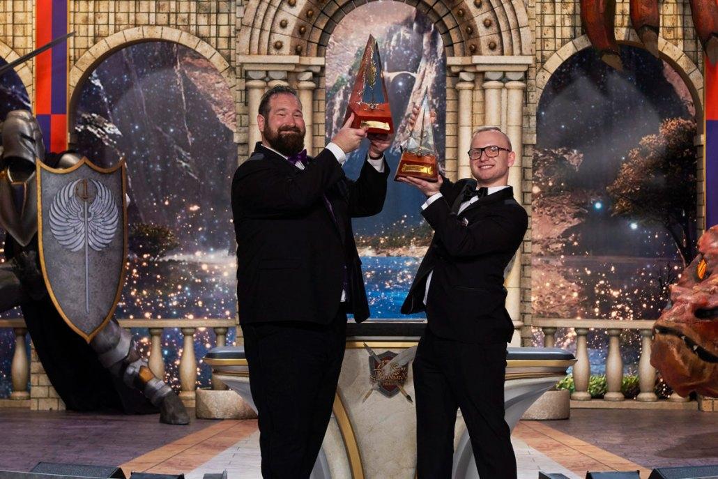 Grand Prize Winners 2017, Jake Marley and Michael Michera