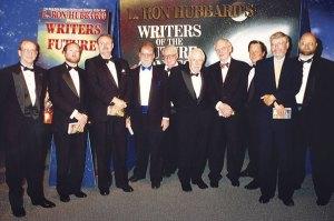 Dr. Doug Beason, Kevin J. Anderson, Dr. Jerry Pournelle, Larry Niven, Algis Budrys, Jack Williamson, Frederik Pohl, Tim Powers, Dr. Gregory Benford and Dave Wolverton