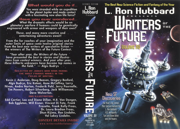 L. Ron Hubbard Presents Writers of the Future Volume 15