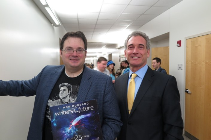 Brandon Sanderson with John Goodwin