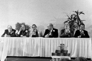 Jack Williamson, Anne McCaffrey, Robert Silverberg, Gene Wolfe, Frederik Pohl and Larry Niven