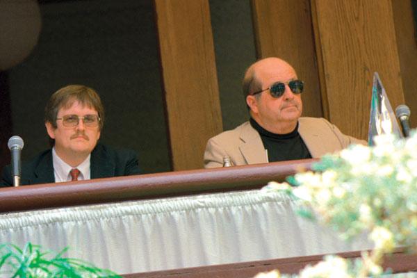 Orson Scott Card and Gene Wolfe