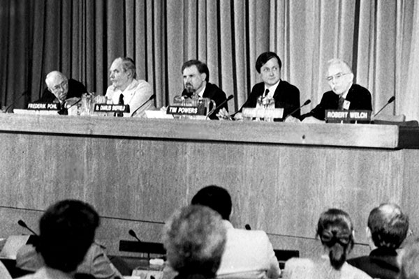 The United Nations WotF symposium.