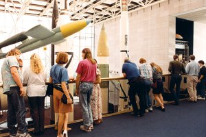 During the workshop week, winners had a chance to tour the Smithsonian National Air & Space Museum.