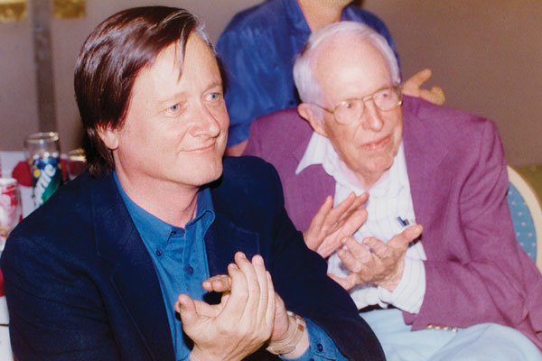 Tim Powers and Jack Williamson.