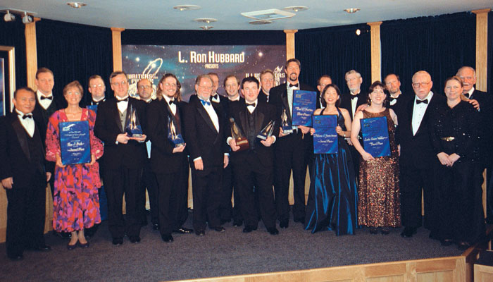 Writer winners and judges, 2000.