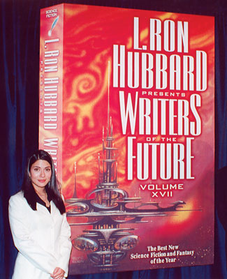 Marisol Nichols with the release of Writers of the Future Volume XVII.