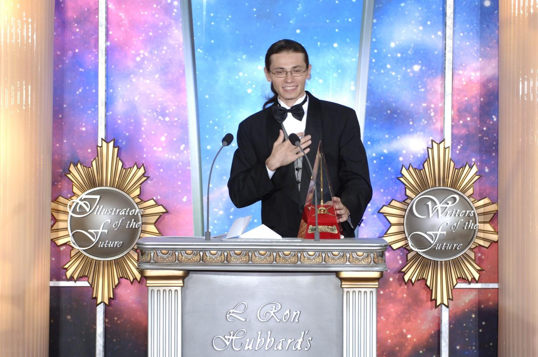 Golden Brush Award winner, Eldar Zakirov