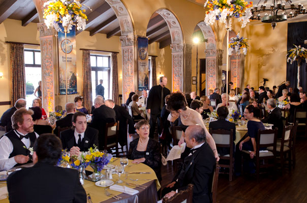 Pre-awards banquet.