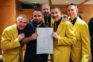 Robert Castillo with The Jive Aces