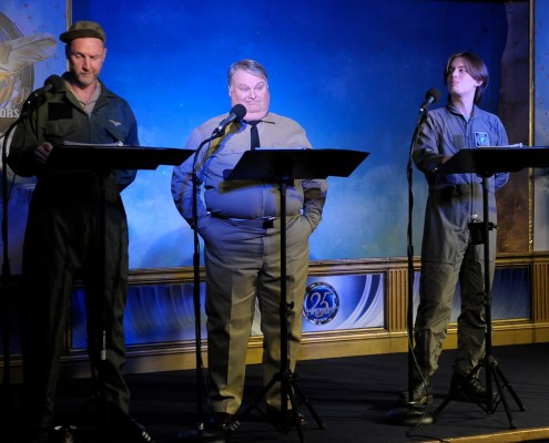 "Live Reading of L. Ron Hubbard's science-fiction story ""A Can of Vacuum"""