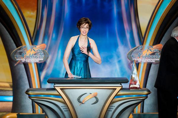 Illustrators of the Future Gold Brush Award Winner Michelle Lockamy.