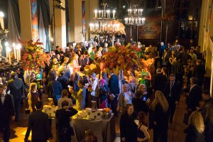Writers and Illustrators of the Future after-part at the Wilshire Ebell Club in Los Angeles