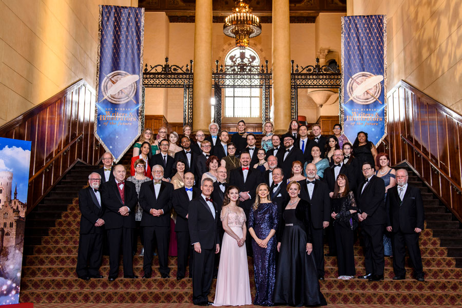 Judges and Winners at the 34th Annual Awards Ceremony