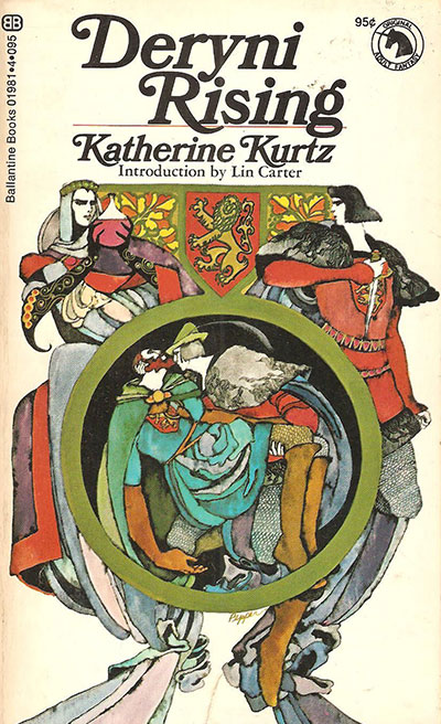 Deryni series by Katherine Kurtz