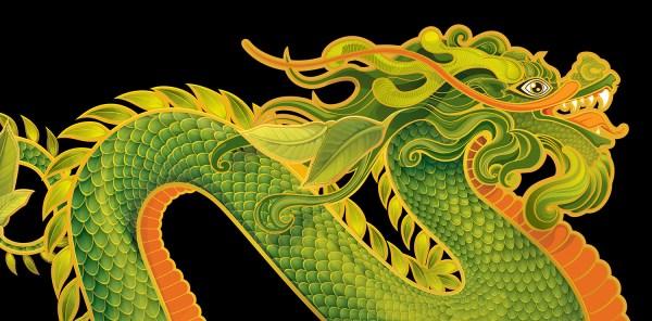 Tea Dragon by Echo Chernik