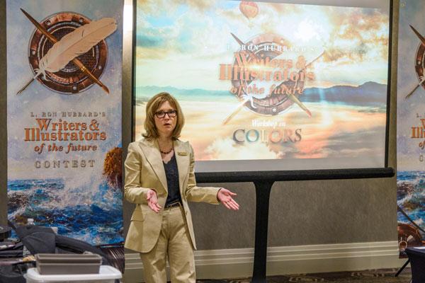 Maryse Alexnader, Marketing Director Galaxy Press