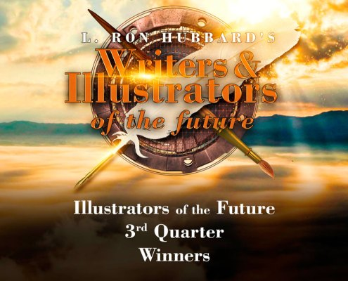 Illustrators of the Future 3rd Quarter Winners