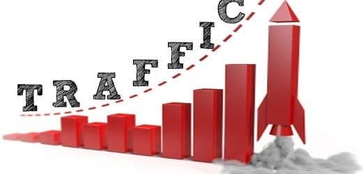 link building blog traffic