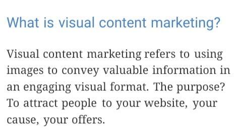 visual content big brand system