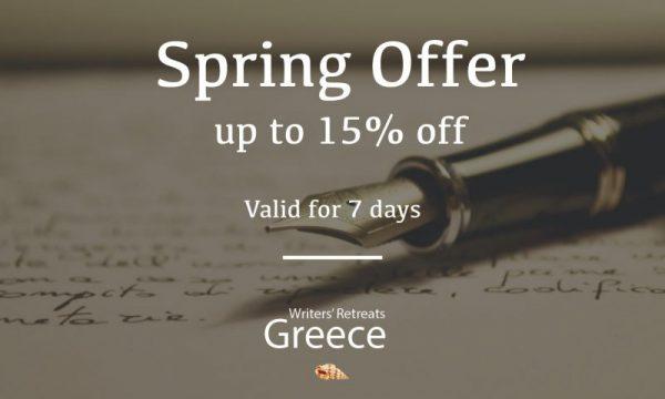 Spring Offer up to 15% off