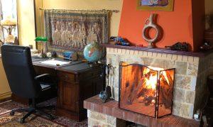 La Casa Grande Writing Retreat Desk Greece