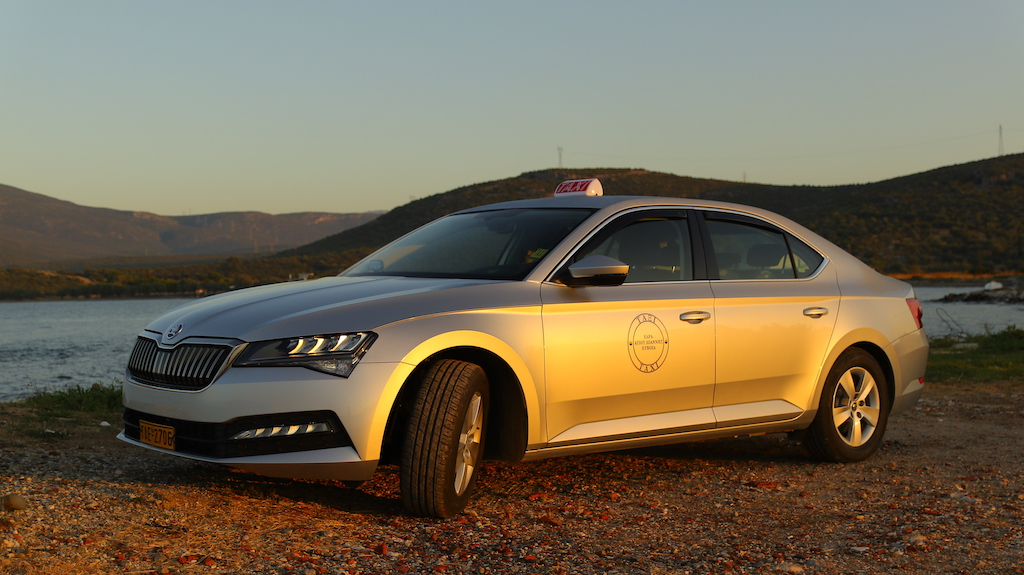 Skoda Superb - The Greek Taxi