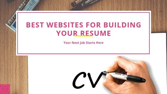 Best websites for building your resume