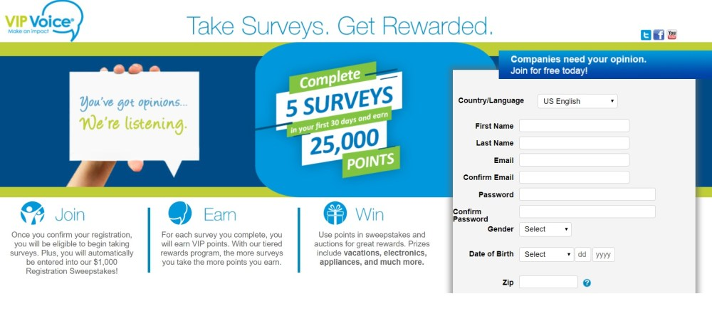 Get paid to complete surveys