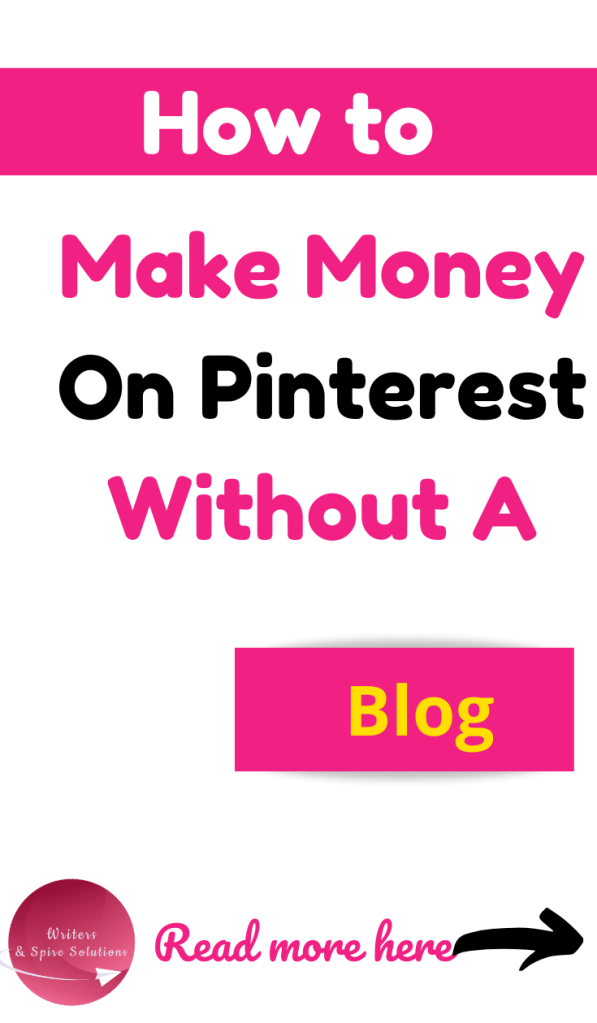 How to Make Money on Pinterest Without a Blog