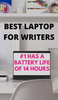For Best Laptop for Writers on a Budget