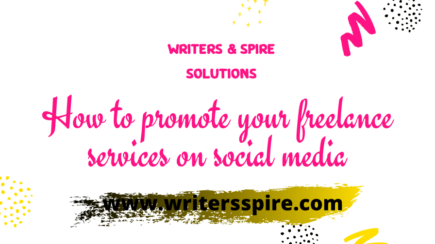 For How to promote your freelance services on social media
