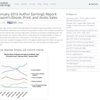 February 2016 Author Earnings Report