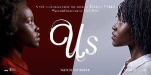 Us Movie Poster - A Tale of Two Lupitas