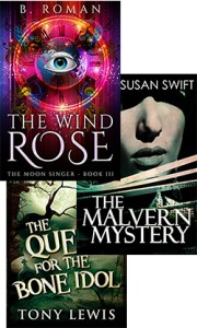 Books: The Wind Rose, The Malvern Mystery & The Quest for the Bone Idol
