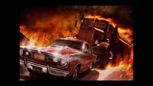 Car chase from Duel movie