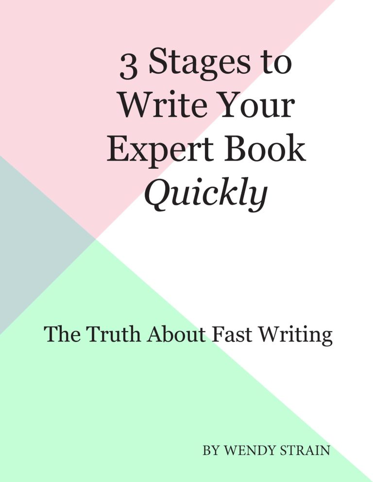 Write Your Expert Book in 3 Stages