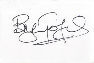 Bryn Terfel ' Welsh Opera Singer ' Music Signed Card Autograph