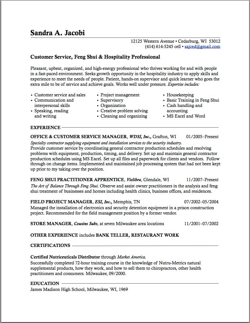 Best Career Change Resume Example Application Letter For