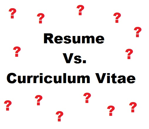 Main Differences Between A Resume and a CV