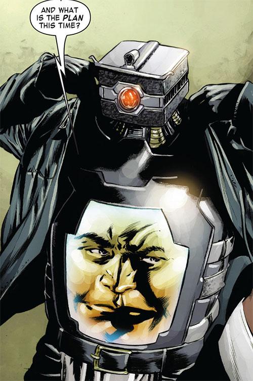 Arnim Zola  Marvel Comics  Captain America enemy