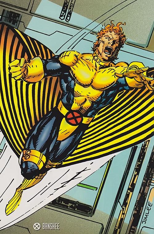 Jedi Quote Wallpaper Banshee Marvel Comics X Men Sean Cassidy Character