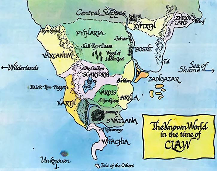 Map America Dc Comics